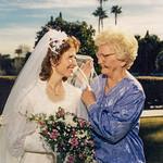 1987-01-23 Velva & Laurinda at Laurinda's Wedding 2
