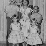 1955c Charlotte, Norris, Ron, Vici & Tami