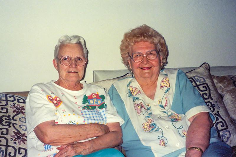 1990c Velva & Anna Mae
