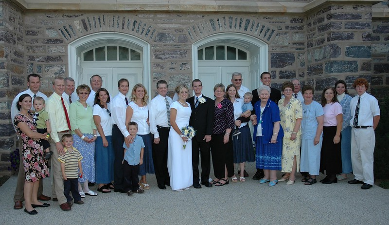 2005-08-06 -- Sean and Jana Lowe Wedding 075 -- Enloe Family