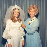 1972-01-28 Tami's Wedding -- Velva & Tami