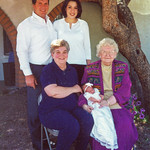 2006 5 Generations - Velva, Charlotte, LaMar, LaNae & Kaylee