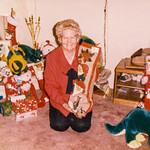 1987-12 Velva at Christmas