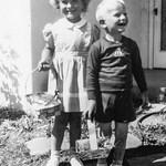 1945 Charlotte & Nollie on Easter_0011 (Adjusted)