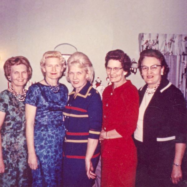 1954 Velva, Beulah, Frona, Fern & May