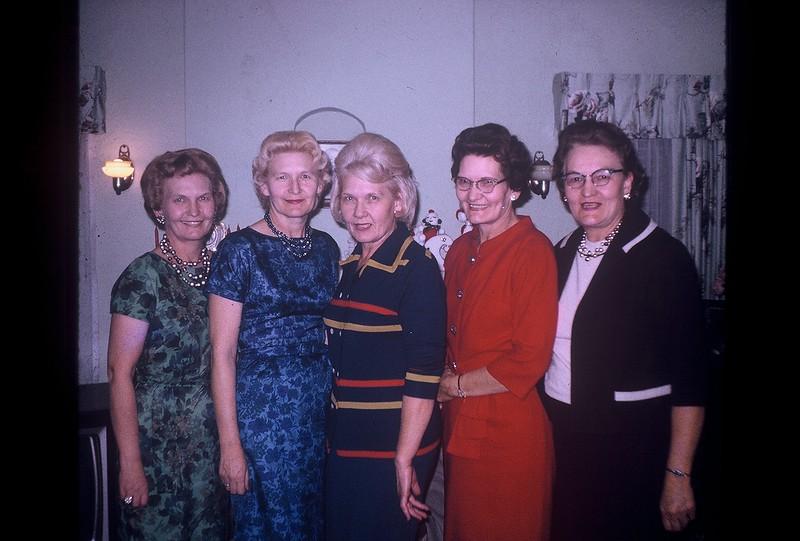 1954 Velva, Beulah, Frona, Fern & May-2
