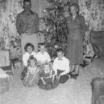 1953c Norris, Velva & Family - Christmas