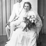 1939 Norris & Velva Wedding Picture