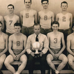 1936 Norris Enloe - Basketball Team