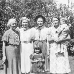 1938 Laura, Velva, Beulah & May