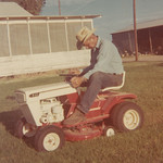 1969c Norris Mowing the Lawn 01 (Adjusted)