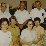 The Enloe Family - Grant, Wayne, Norris, Sue, Mona Jean, Zelma, Virginia & Marilynn