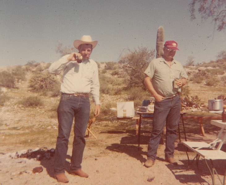 Norris Camping with Friends (1967c)