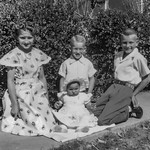 1950 Charlotte, Nollie, Ron & Victoria on Easter_0004 (Adjusted)