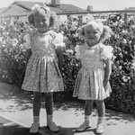 1954 Victoria & Tamara on Easter_0005_a-EIP (Adjusted)