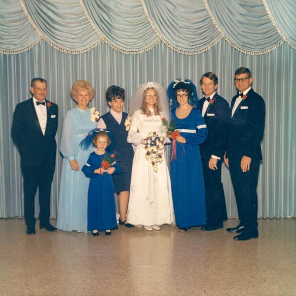 1972-01 Tami's Wedding -- Enloe Family