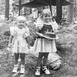 1952 Victoria & Tamara on Victoria's Birthday_0001_a (Adjusted)