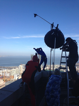 Rooftop Superheroes Behind The Scenes