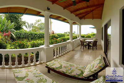 Family suite terrace