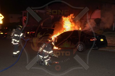 Roosevelt F.D. Car Fire  I/F/O 218 E. Greenwich Ave. 3/10/17
