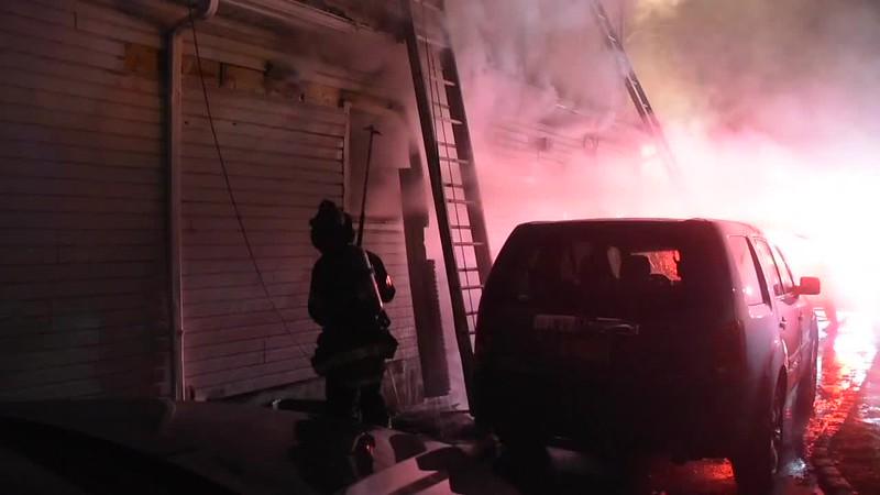 Roosevelt House Fire- Paul Mazza