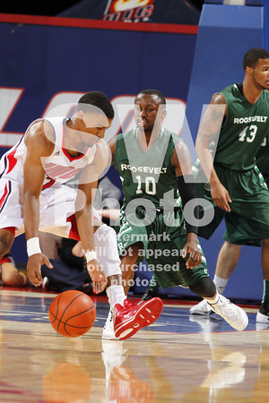11.13.2013 - Roosevelt Men's Basketball at UIC