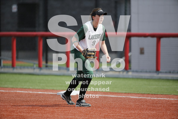 4.17.2014 - RU Softball vs. RMU