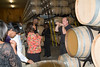Inside the barrel room at Grgich