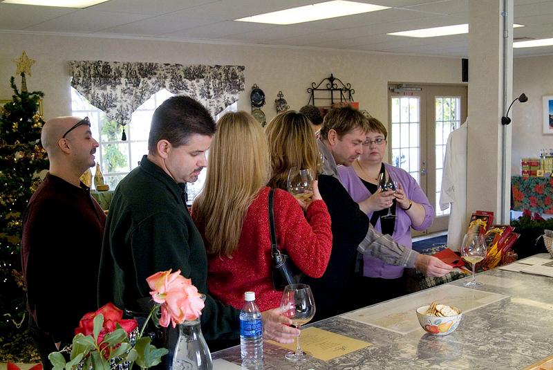 La Rochelle Winery Tasting Room