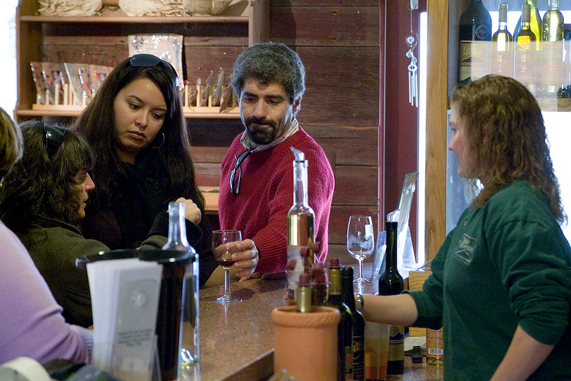 Cedar Mountain Winery Tasting Room