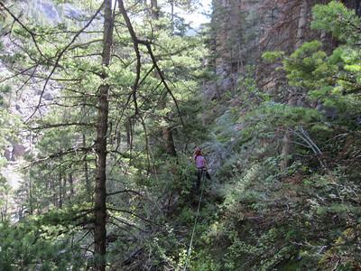 Bear Creek Canyoneering, Ouray CO - 8/30/2012