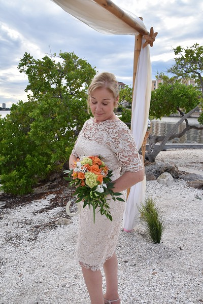 Beautiful destination wedding in Sarasota, FL