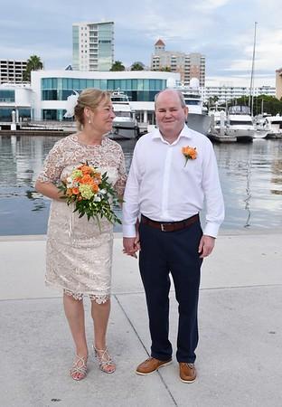 Beautiful destination wedding in Sarasota, FL