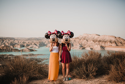 Rosa y Begoña