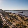 A view from the Monumento Nacional a la Bandera, Rosario, Argentina