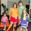 Superhero, Velma Dinkley, Shaggy Rogers, and Daphne Blake