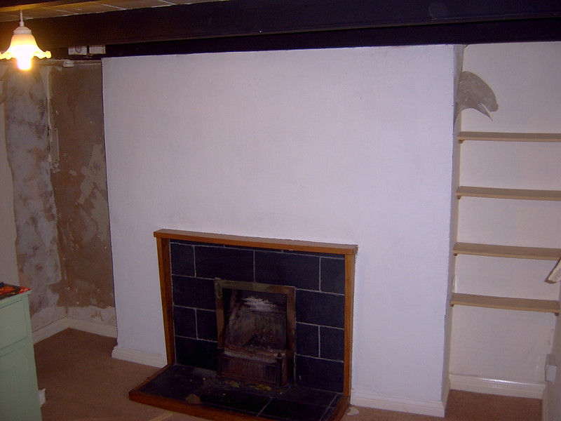 The 'old' fireplace