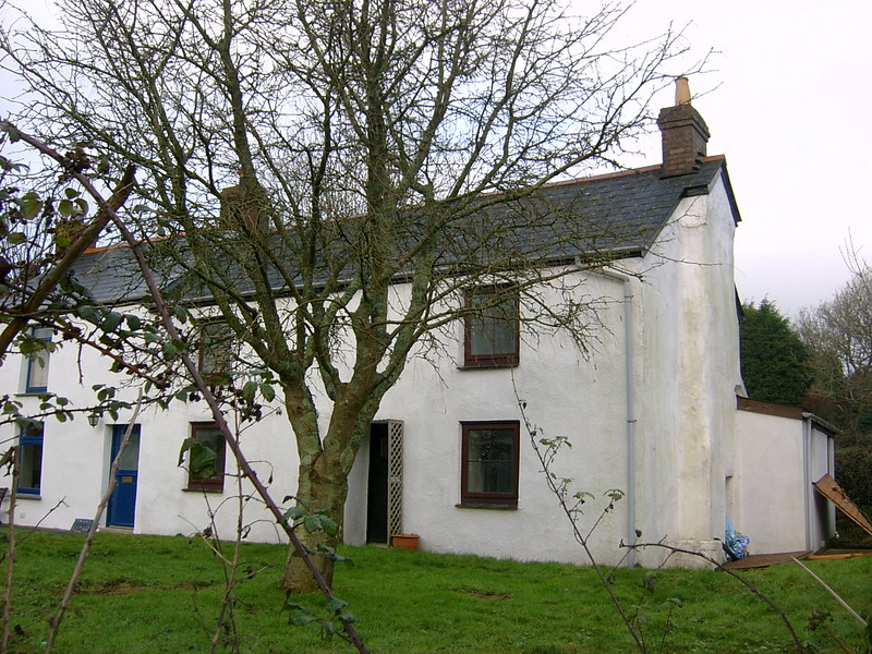 The cottage when we first viewed it