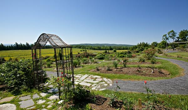 Jardins de Rose des Champs , Ste-Catherine de Hatley