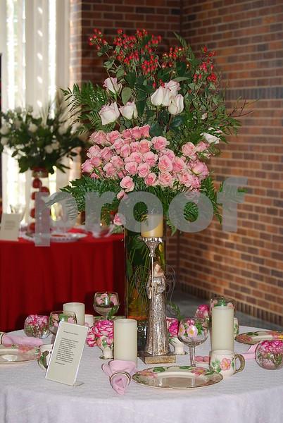 10/14/10 Rose Festival Queen's Tea by Angela Klein