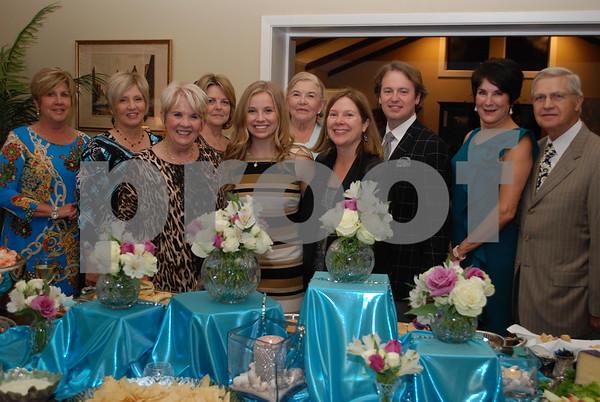 10/14/15 Texas Rose Festival Reception For Duchess Claire Johnson by Jan Barton