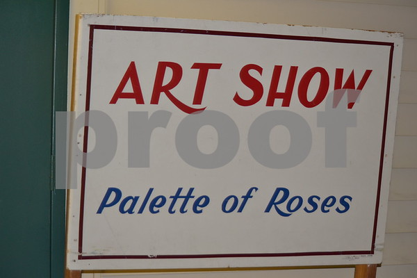 10/17/12 60th Annual Palette Of Roses Art Show by Kevin Hampton