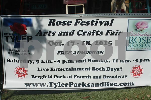 10/17/15 82nd Annual Texas Rose Festival - Arts & Crafts Fair by Sarah Miller & David Thomas