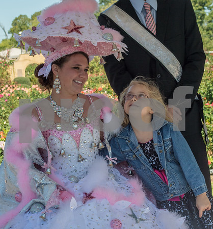10/19/13 80th Annual Texas Rose Festival Queen's Tea by Marjorie Walle and Sarah Miller
