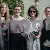 Valerie Parker, Madelyn Oney, Margie Oney and Christina Robinson attend the opening ceremony for the 59th Azalea & Spring Flower Trail at a residential garden on Dobbs Street in Tyler, Texas on Friday March 16, 2018. <br /> <br /> (Sarah A. Miller/Tyler Morning Telegraph)