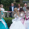 The ribbon is cut at the opening ceremony for the 59th Azalea & Spring Flower Trail in Tyler, Texas on Friday March 16, 2018. The trail is a three-week that draws tourists who come to see azaleas and other flowers grown in yards around Tyler's Azalea District neighborhood. <br /> <br /> (Sarah A. Miller/Tyler Morning Telegraph)