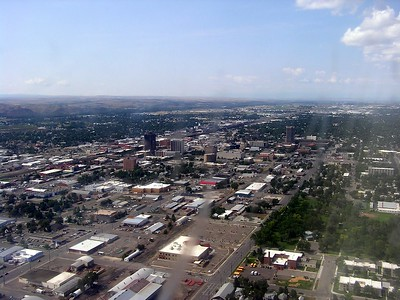 The downtown Billings, Montana footprint isn't very big.