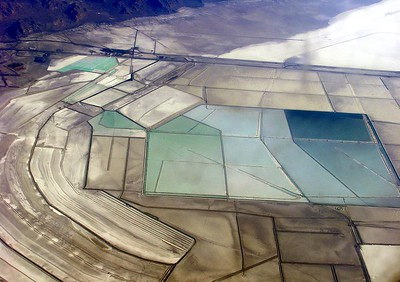 Any ideas?  These are the salt flats just outside of Salt Lake City.