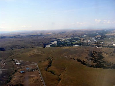This scene comes from just west of Billlings, Montana on our approach to the airport.