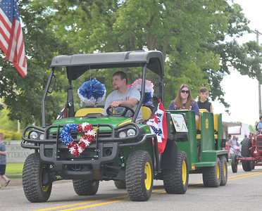 Lisa Yanick Litwiller - Morning Sun  The 2017 Rosebush Fourth of July celebration parade on Saturday, July 1.